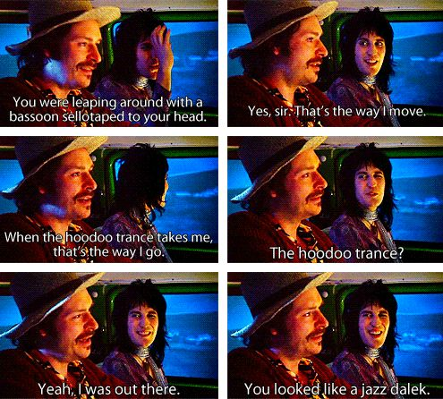 The Mighty Boosh and Doctor Who. I fangirled so much.