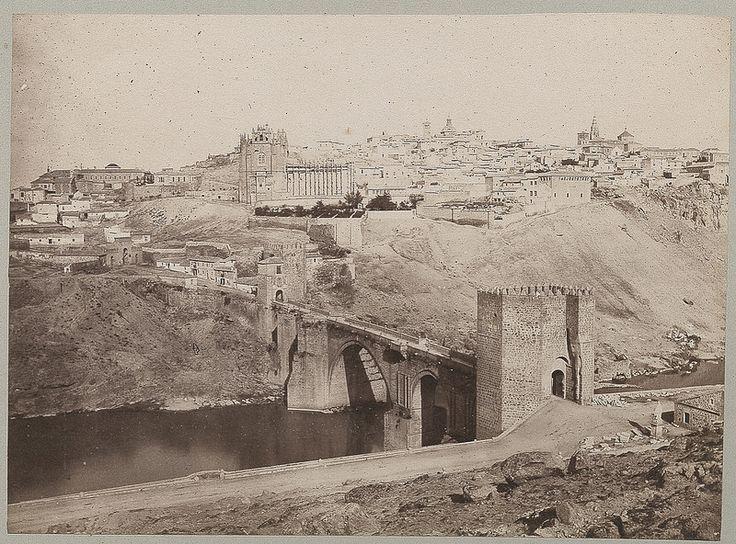 Puente de San Martín en 1886 © Archives départementales de l'Aude - Eduardo Sánchez Butragueño