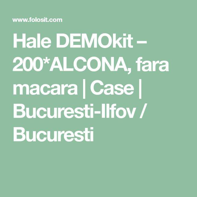 Hale DEMOkit – 200*ALCONA, fara macara  | Case | Bucuresti-Ilfov / Bucuresti