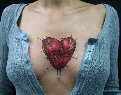We've given you two lists featuring female chest tattoos, sideboob tattoos, and underboob tattoos; we really thought that we had covered all of the bases. Then a brilliant idea hit us, sternum tattoos! Check out this gallery featuring some of the coolest... [ read more ]