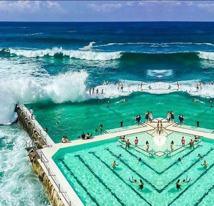 Bondi Beach, New South Wales, Australia  #Tourism #NewSouthWales