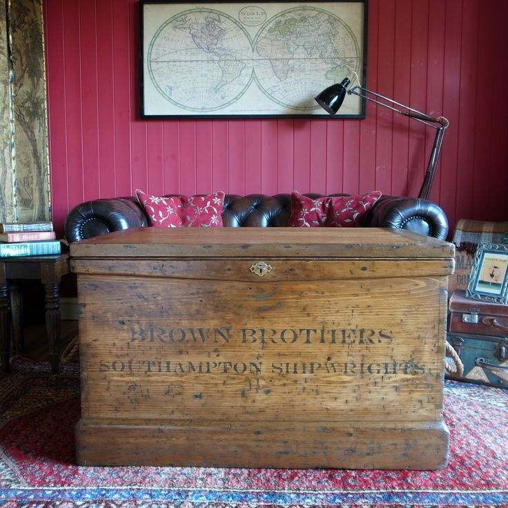 Brand-new 546 best Vintage Trunks & Chests images on Pinterest SW58
