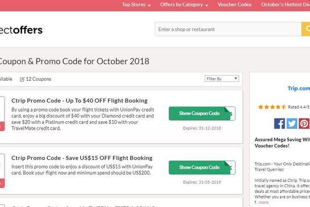 Trip Com Promo Code Singapore Promo Codes Coding Restaurant Vouchers
