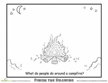 Finish The Drawing Campfire
