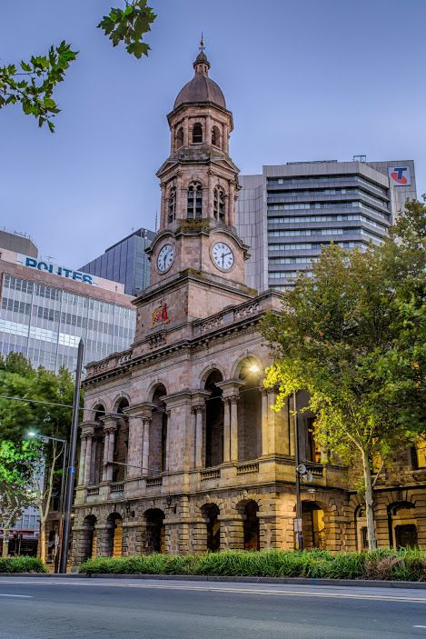 Adelaide Town Hall. King William Street, Adelaide CBD. #South Australia