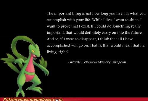 Zelda Friendship Quotes : Grovyle s shining spirit sky the o jays and forget him