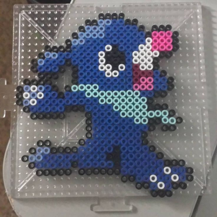 Popplio Pokemon Perler Beads By Seifernoir Pokemon