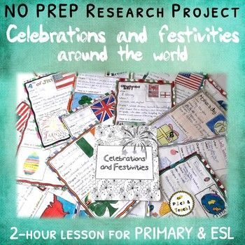 Celebrations around the world – Research project