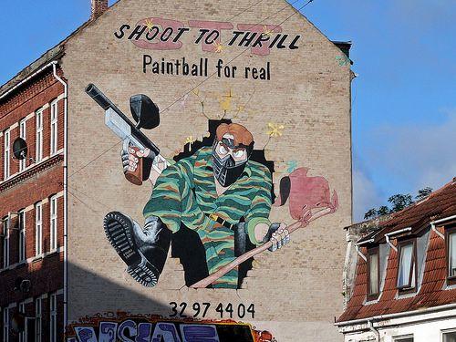 Gable painting  #streetart