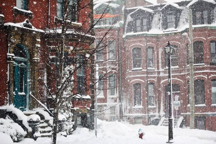 """A quiet moment in the streets of Saint John, New Brunswick, captured by @chrisbgardner last winter. It won't be long now until spring arrives!…"""