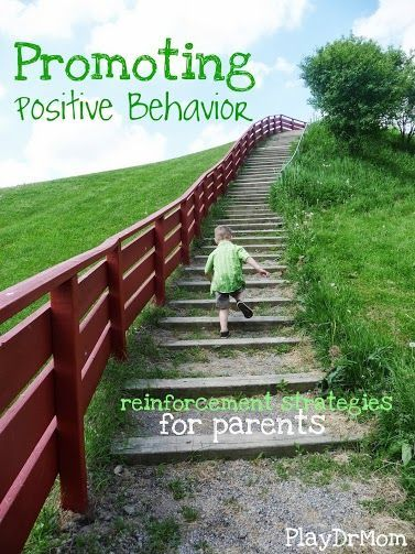 Great ideas for Promoting Positive Behavior in children from PlayDrMom (a child psychologist and mom)