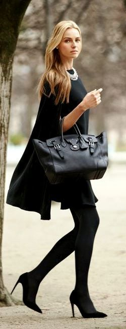 Ralph Lauren soft Ricky Bag in black with @Valentina Vitols Bello Vitols Bello zelyaeva