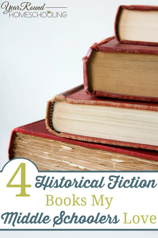 4 Historical Fiction Books My Middle Schoolers Love - By Misty Leask #Historical #Fiction #Books #MiddleSchool