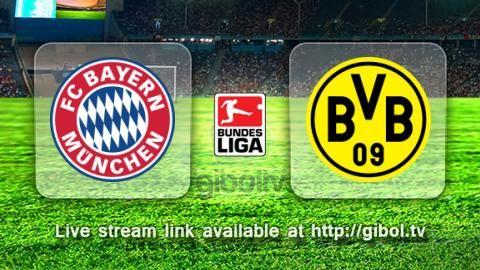 Bayern München vs Borussia Dortmund (4 Oct 2015) Live Stream Links