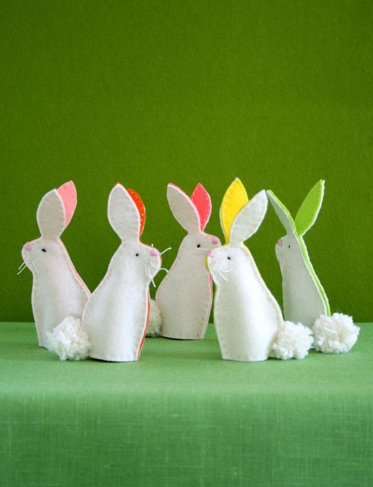 Bunny Finger Puppet Kit
