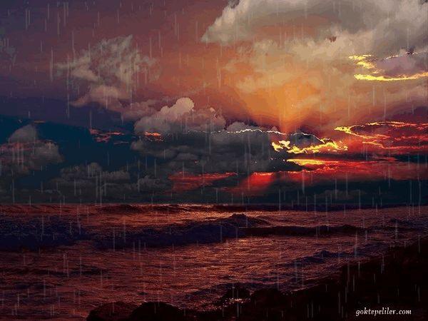 Yağan yağmur ve günbatımı manzara gifleri kendi yaptığımız 14, Yağan yağmur ve günbatımı manzara süper gifleri, Yagan yağmurlu günbatımı resimli resimler, hareketli yağan yağmur gifleri ve günbatımı resimleri, günbatımı manzara ve yağan yağmurlu gif - Göktepe Köyü Web Sitesi