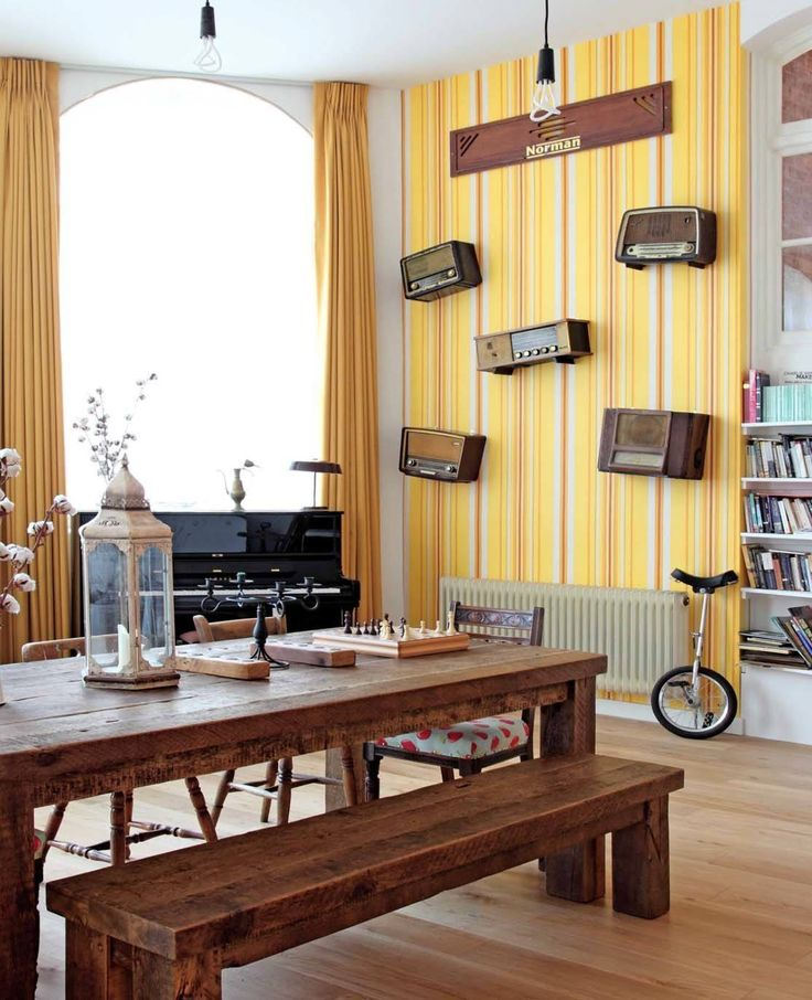 Victorian school converted to playful home with upcycled ...