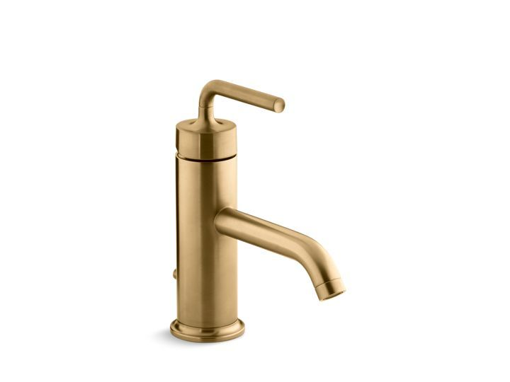Best Gleaming Gold Bathroom Images On Pinterest Gold Bathroom - Brushed gold bathroom faucet for bathroom decor ideas