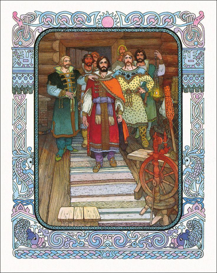 Картинки сказка от семи богатырях