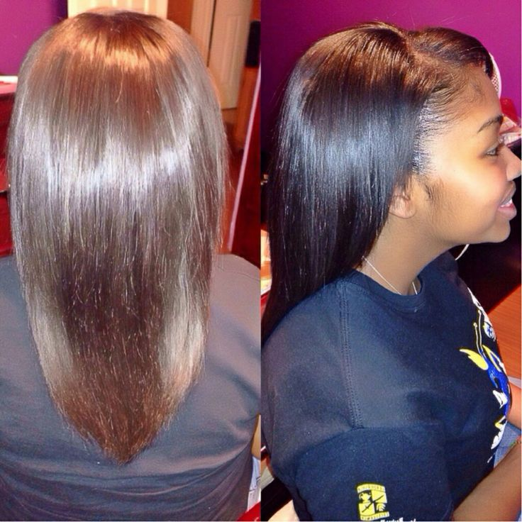 Partial Sew In On Natural Hair By: Me