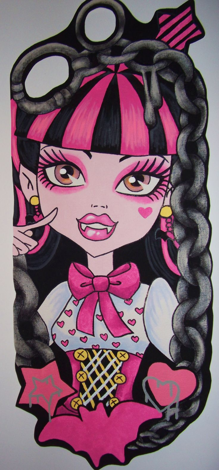 Pink And Black Bedroom Wallpaper 17 Best Images About Monster High On Pinterest Barbie House
