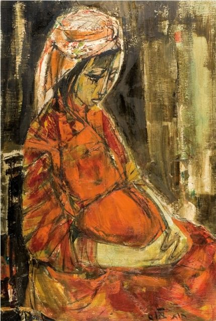 66 best ruth and naomi images on pinterest jewish art for Israeli artists oil paintings