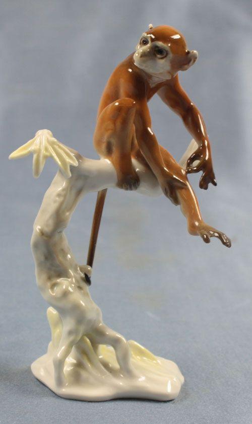 Monkey porcelain hutschenreuther figurine porcelainfigurine achtziger 1648485 hutschenreuther - Gorilla figurines ...