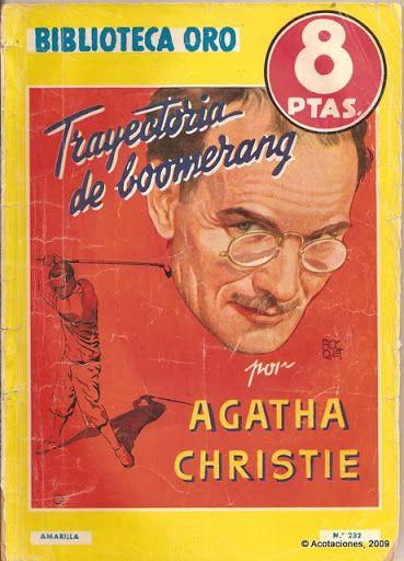 Trayectoria De Boomerang. Molino. Biblioteca Oro (2). 232. 1946