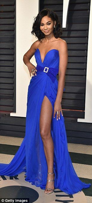 Toni Garrn and models dazzle at Vanity Fair Oscars party | Daily Mail Online