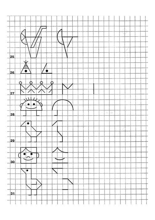 M s de 20 ideas incre bles sobre dibujos con cuadricula en - Trabajar desde casa haciendo manualidades ...