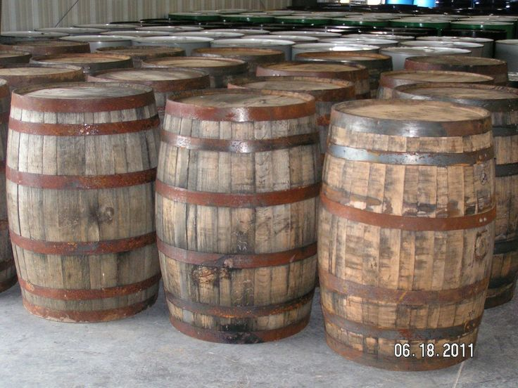 53 Gallon Charred White Oak Real Kentucky Bourbon Barrels