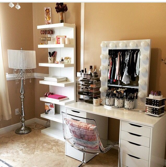 Vanity Beauty Room Pinterest Vanities Makeup