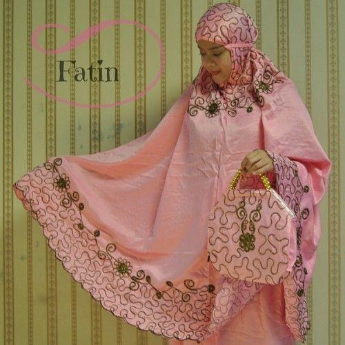 Mukena Cantik Fatin Pink, Mukena Velvet - Azkania | Yukbisnis