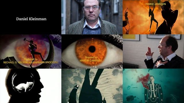 BOND: Title Design Director Daniel Kleinman of Rattling Stick,  Daniel took over the dream job of becoming the next Bond title designer from veteran designer Maurice Binder with  GoldenEye in 1995.