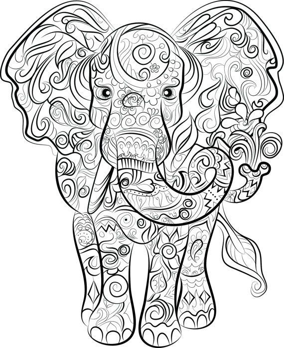 Great Totally Free Coloring Books Illustration Style This Is Actually The Supreme Secrets And Te In 2021 Elephant Coloring Page Mandala Coloring Pages Elephant Drawing