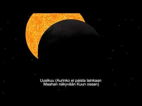 ▶ Maan ja Kuun liikkeet - YouTube