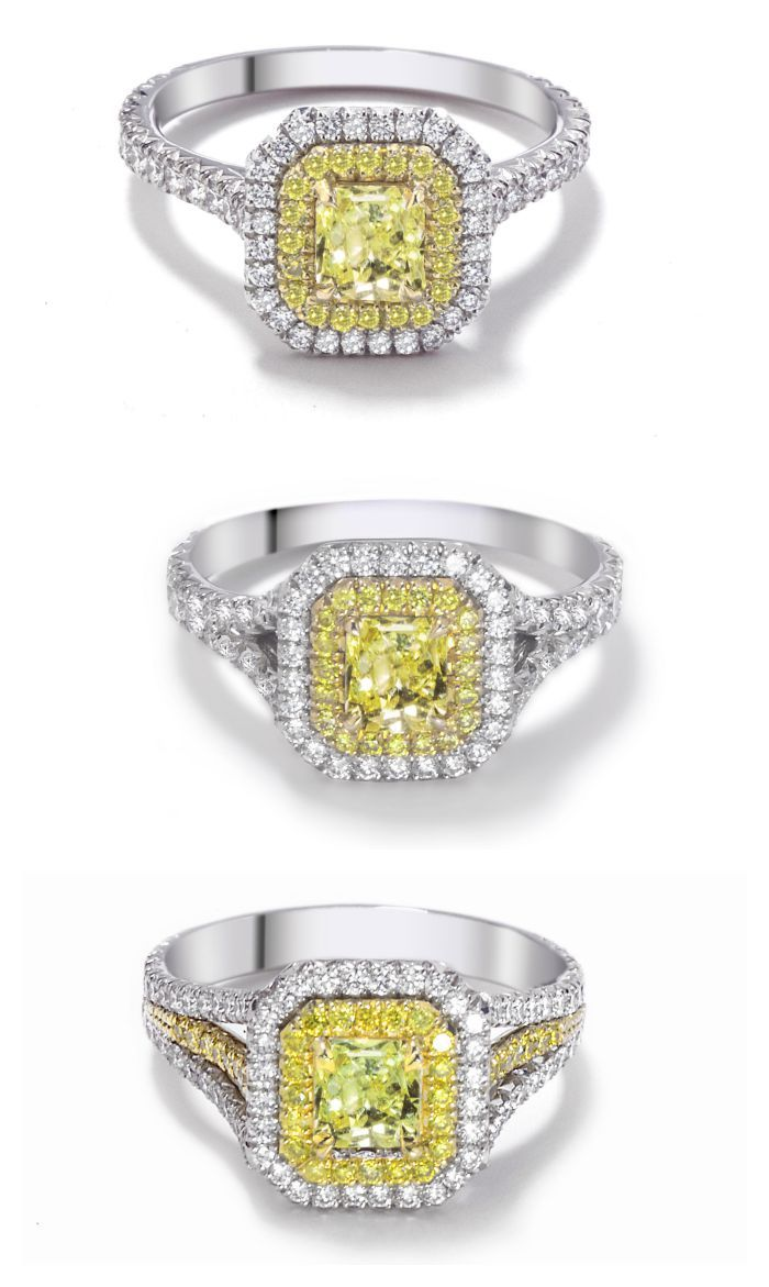 rings solitaire yellow shop ring engraved engagement golden gold p in diamond