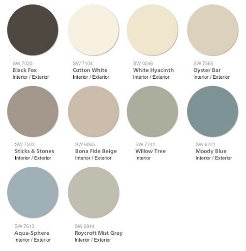 Sherwin Williams 2015 Color Forecast Chrysalis Swatch