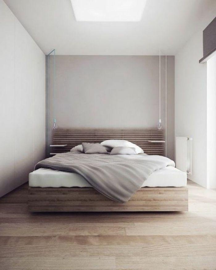 17 meilleures id es propos de lits plateforme sur for Rangement minimaliste