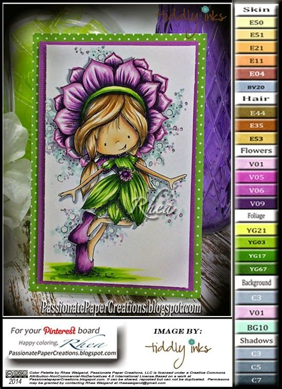 Passionate Paper Creations: Wynn Sunny Days - Tiddly Inks