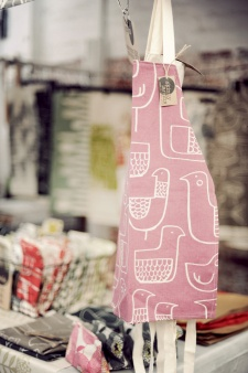 Eep! Aprons at my stands at the Neighbourgoods Market (Old Biscuit Mill). Pic: Kerry Murray
