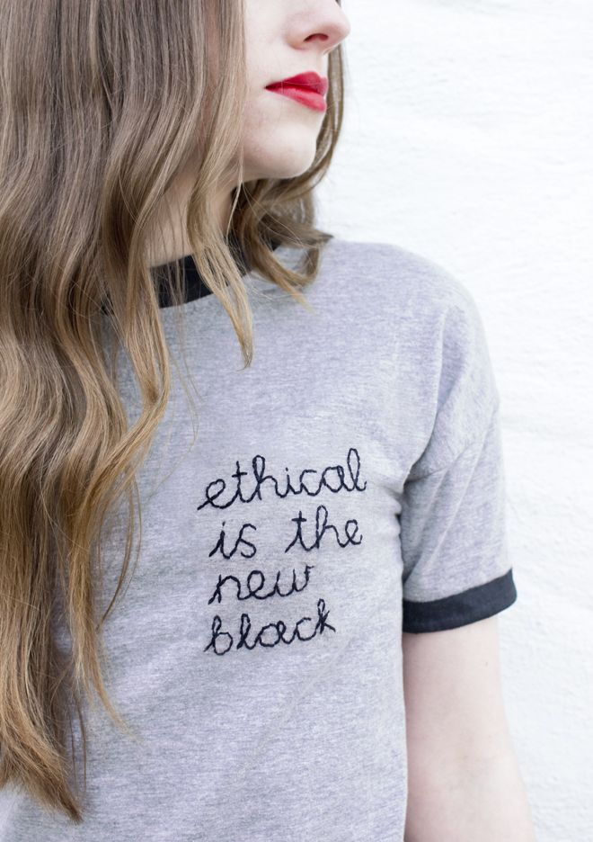 STUDS ON THE SOLES OF HER SHOES: Ethical Is The New Black