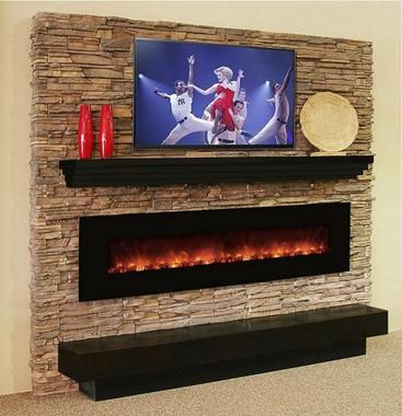 The 100CLX by Modern Flames is a state of the art, wall mounted LED electric fireplace with an unequalled selection of options and a most realistic flame.