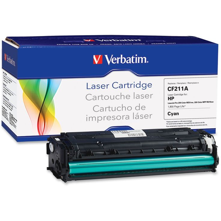 Verbatim Remanufactured Laser Toner Cartridge alternative for HP CF21, Blue #99392
