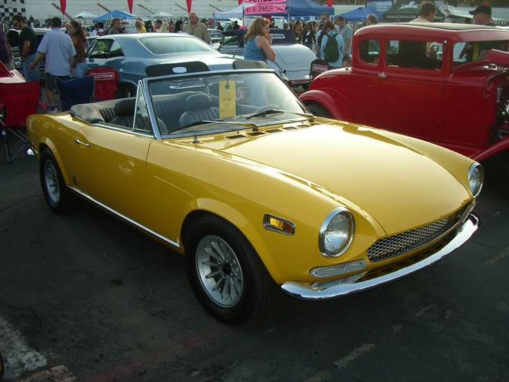 1969 Fiat 124 Sport Spider ♥