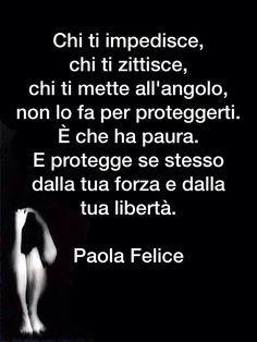 @ forza libertà paura zittire forza