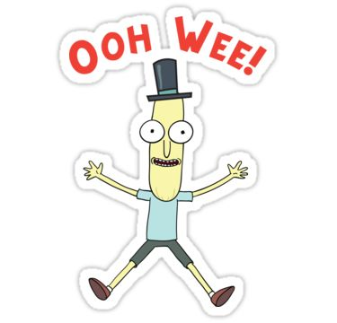 Ooh wee mr poopy butthole sticker