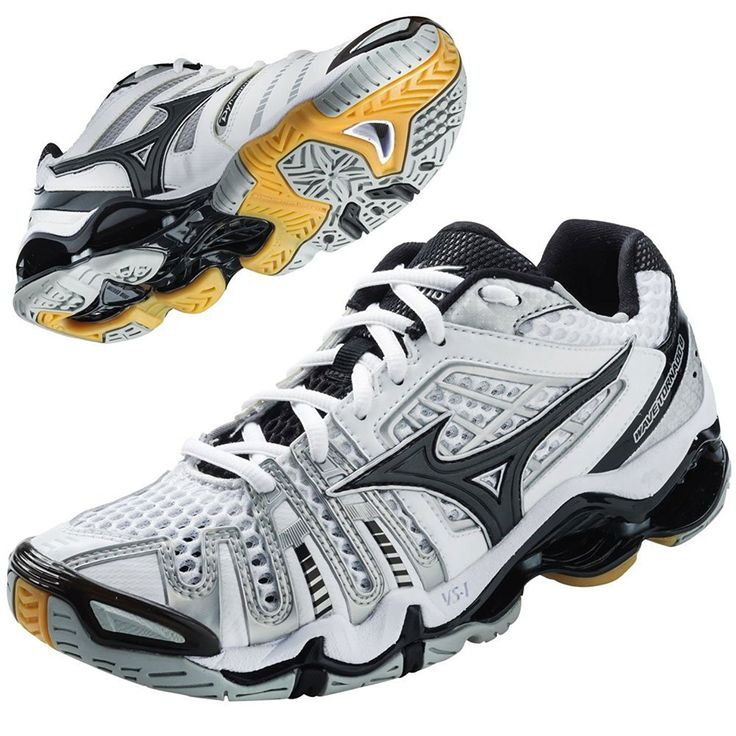Mizuno Women's Wave Tornado 8 Volleyball Shoes - White >>> For more information, visit image link.