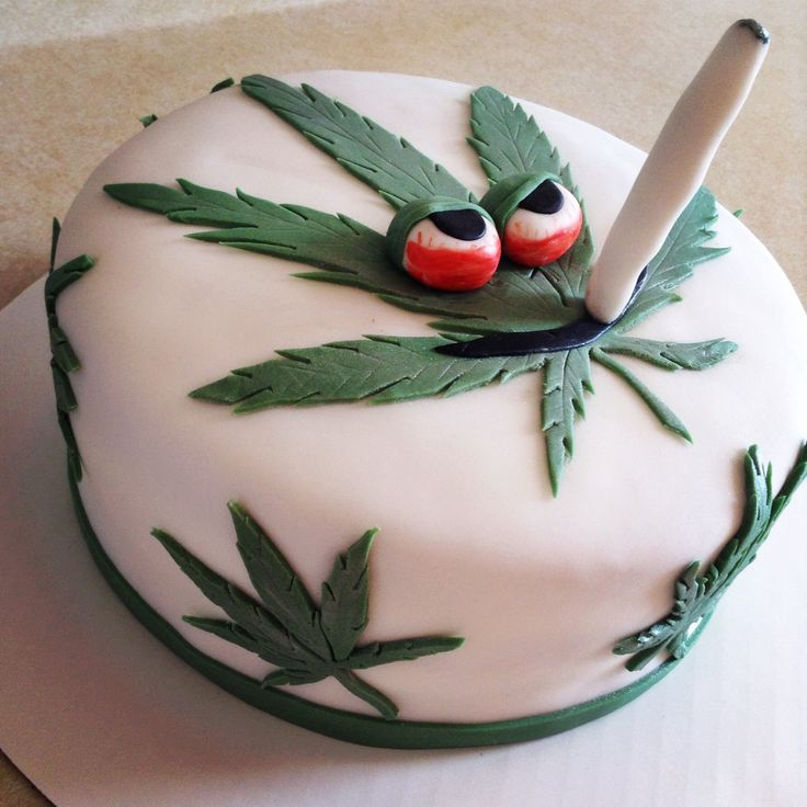Image result for cannabis birthday cakes