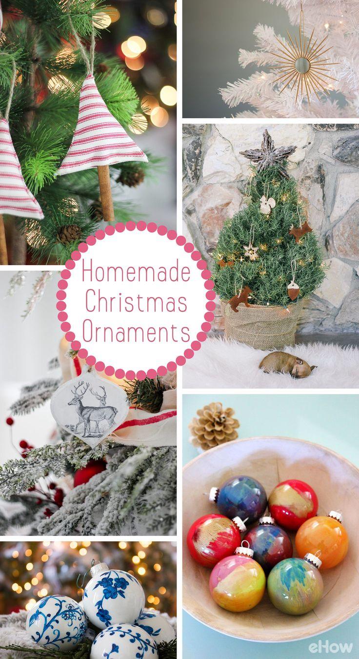 How To Make Homemade Christmas Tree Ornaments